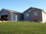 front view of a house in Mitchell,SD with a walk out basement
